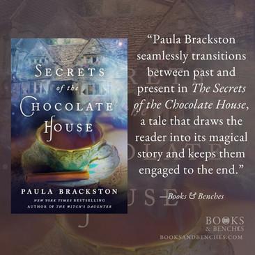 SECRETS OF THE CHOCOLATE HOUSE by Paula Brackston - A Reader's Opinion