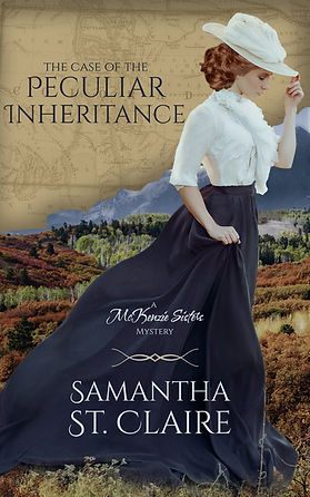 The Case of the Peculiar Inheritance_Samantha St. Claire