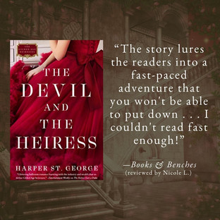THE DEVIL AND THE HEIRESS by Harper St. George - A Reader's Opinion