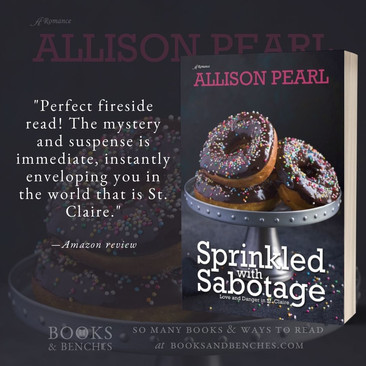 """Great Mystery"" - Sprinkled with Sabotage by Allison Pearl - Interview"