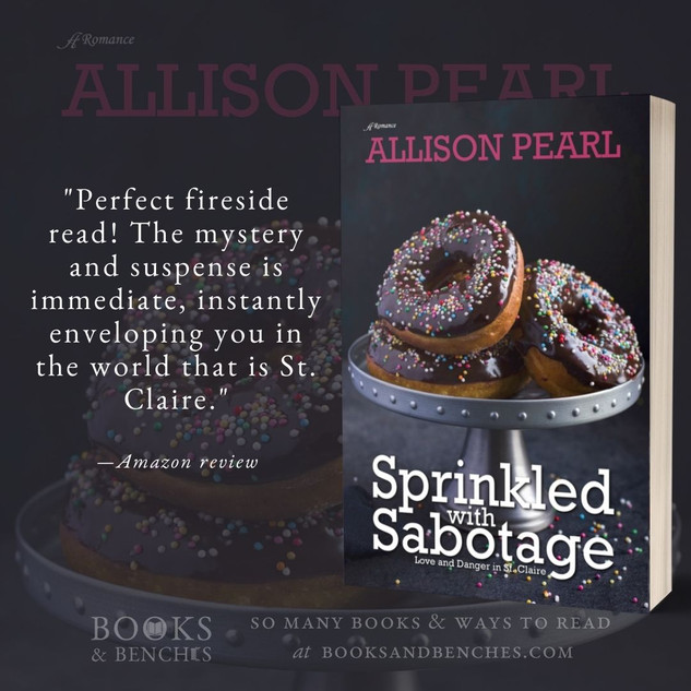 """""""Great Mystery"""" - Sprinkled with Sabotage by Allison Pearl - Interview"""