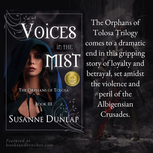VOICES IN THE MIST by Susanne Dunlap - Loyalty and Betrayal