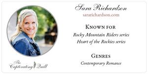 Author Sara Richardson