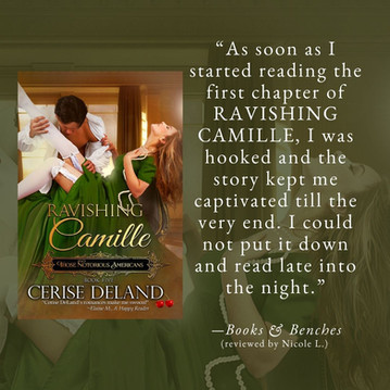 RAVISHING CAMILLE by Cerise DeLand - A Reader's Opinion