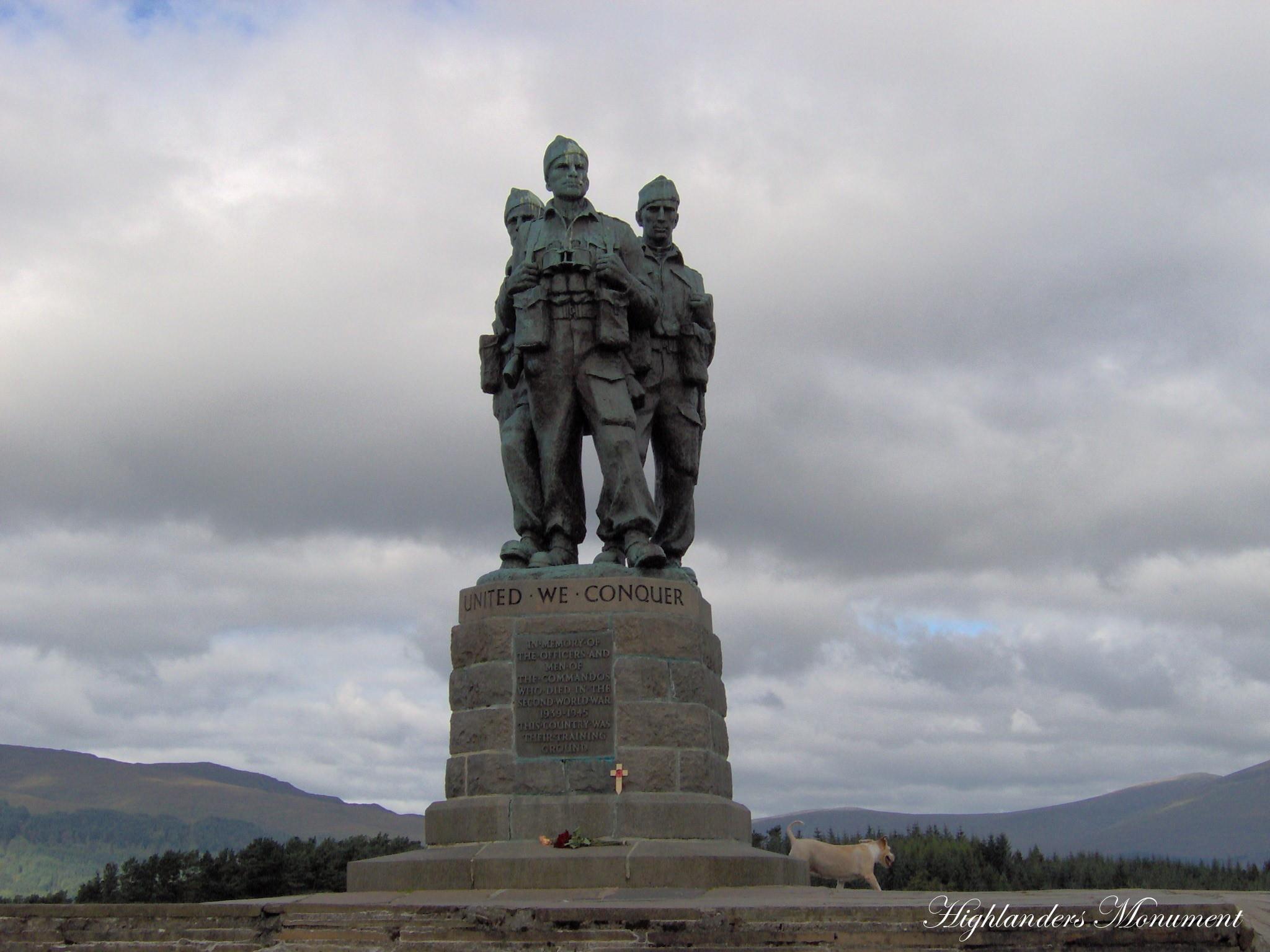 Highlanders Monument