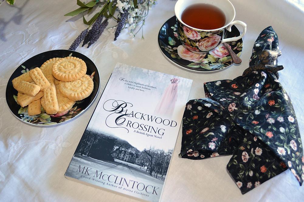 Tea Time with Alaina Claiborne - ©MK McClintock #teatime #bookandtea #historicalromance
