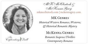 Author MK McClintock