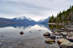 Reflections in Glacier National Park
