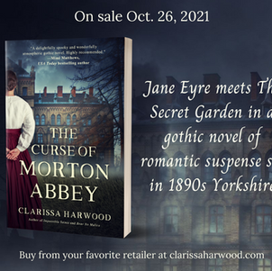 THE CURSE OF MORTON ABBEY by Clarissa Harwood - Excerpt