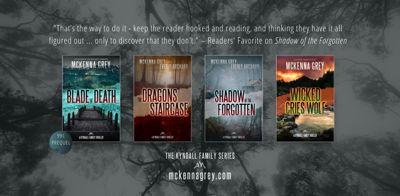 Kyndall Family Thriller series - Romantic suspense and thrillers