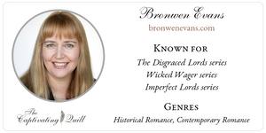 Author Bronwen Evans