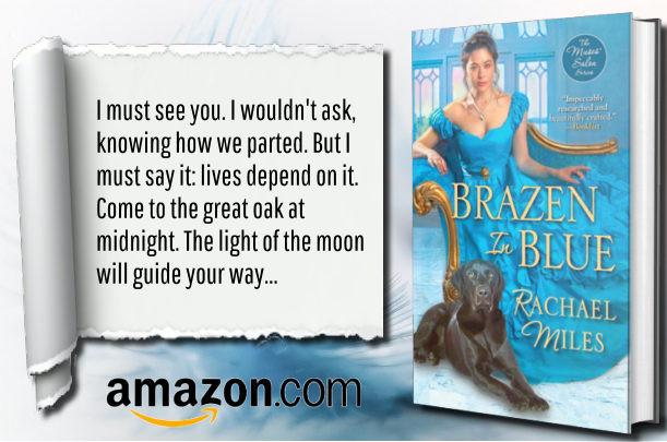 Brazen in Blue by Rachael Miles - Blog Tour
