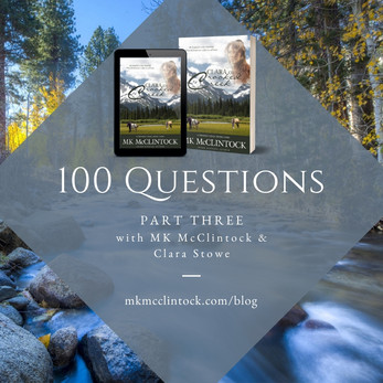 100 Questions, Part Three with MK and Clara