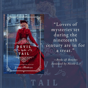 DEVIL BY THE TAIL by Jeanne Matthews - A Reader's Opinion