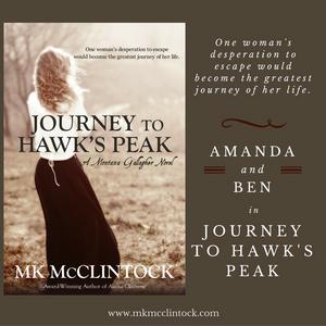 Journey to Hawk's Peak by MK McClintock