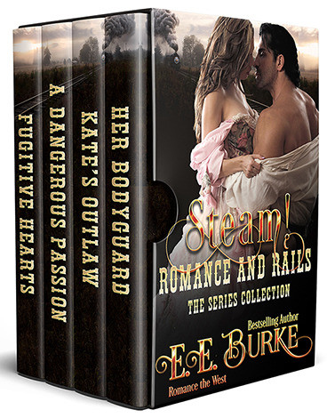 Steam! Romance and Rails by E.E. Burke