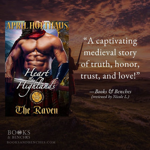 Heart of the Highlands: THE RAVEN by April Holthaus - A Reader's Opinion