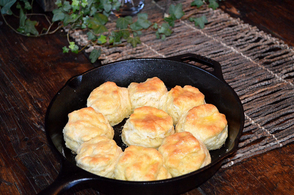 Cast Iron Biscuits