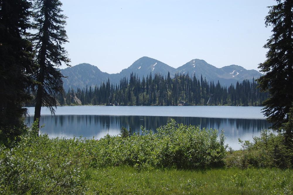 Hiking Jewel Basin by MK McClintock
