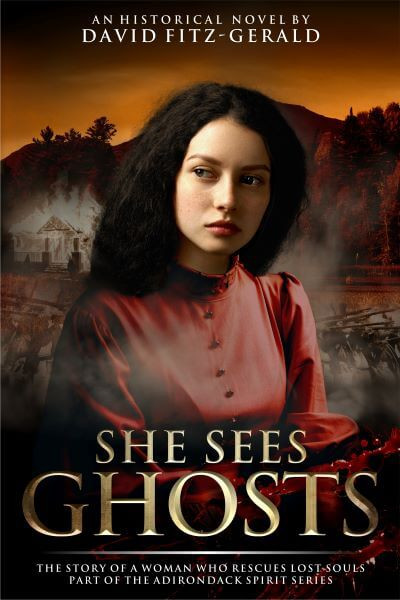 SHE SEES GHOSTS by David Fitz-Gerald