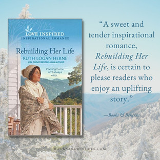 REBUILDING HER LIFE by Ruth Logan Herne - A Reader's Opinion