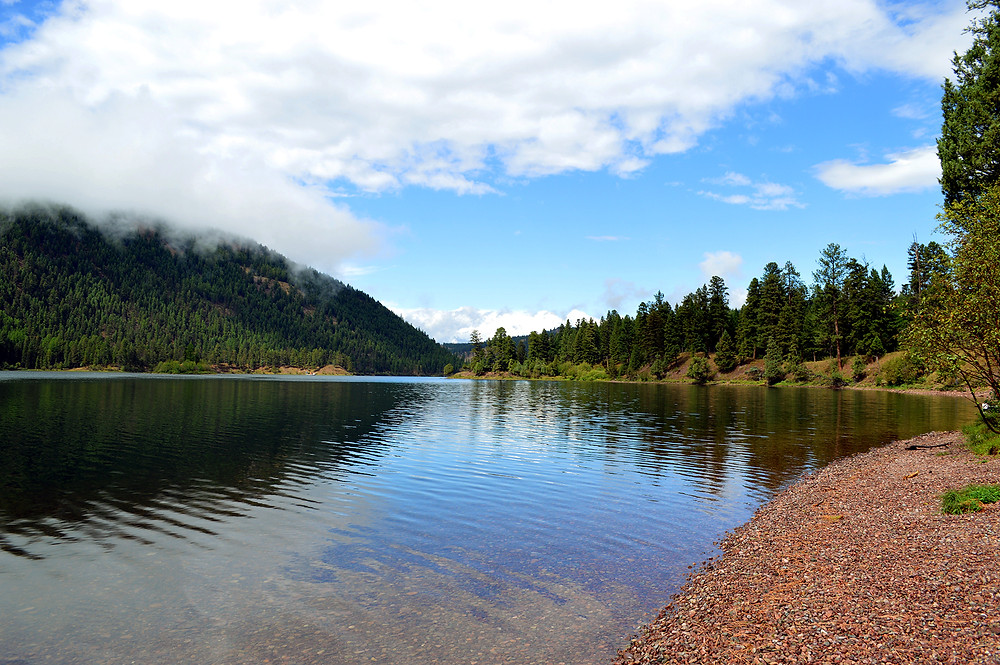 Salmon Lake ©MK McClintock #Montana #lake