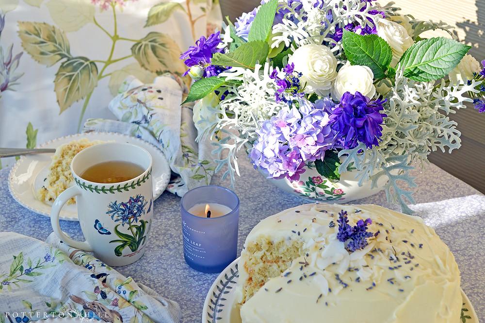 Blueberry Lemon Pecan Scones ~ Writer in the Kitchen - MK McClintock