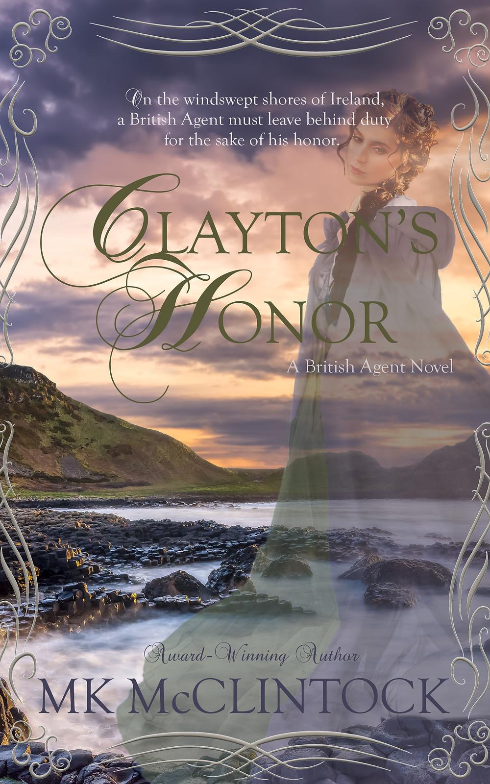 Clayton's Honor by MK McClintock - historical romance mystery novel