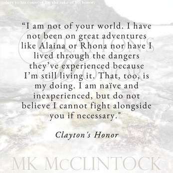 Bravery with CLAYTON'S HONOR