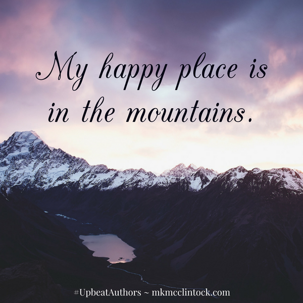 A Place of Happiness and Peace ~ #UpbeatAuthors