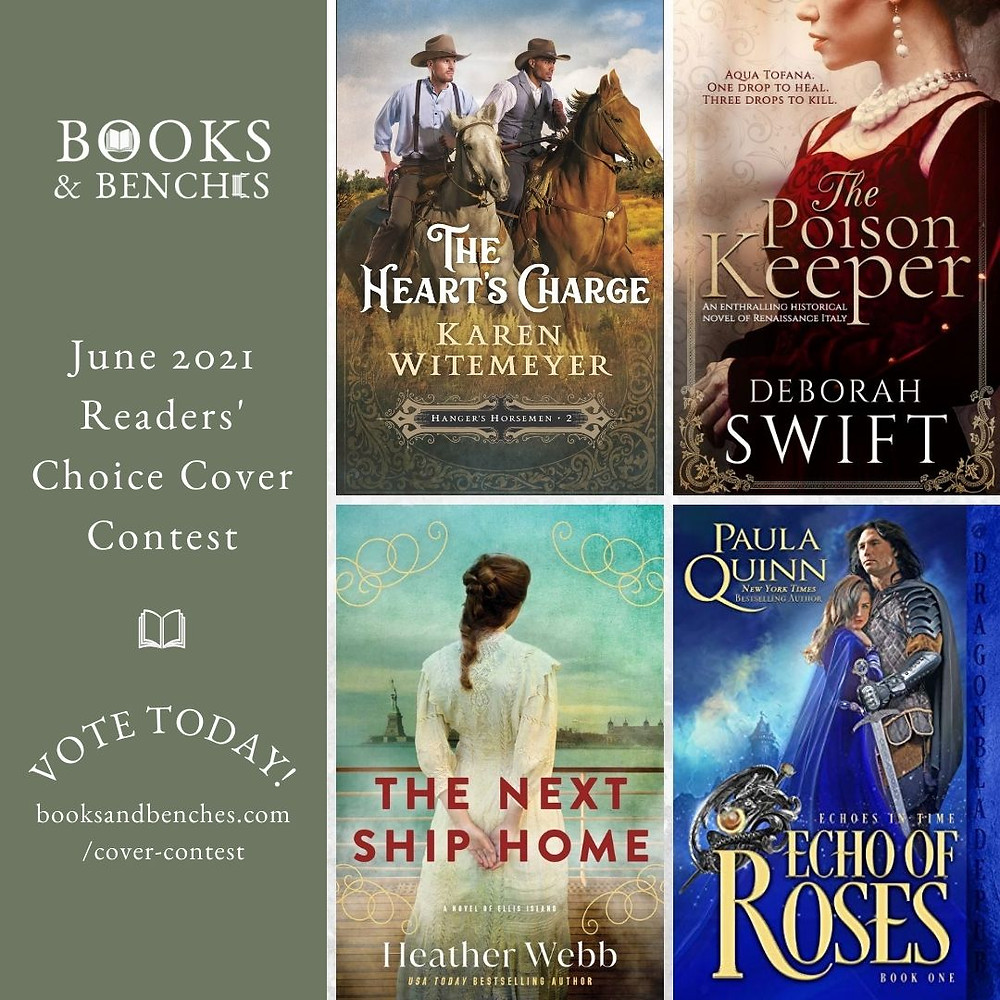 Book Cover Contest at Books & Benches