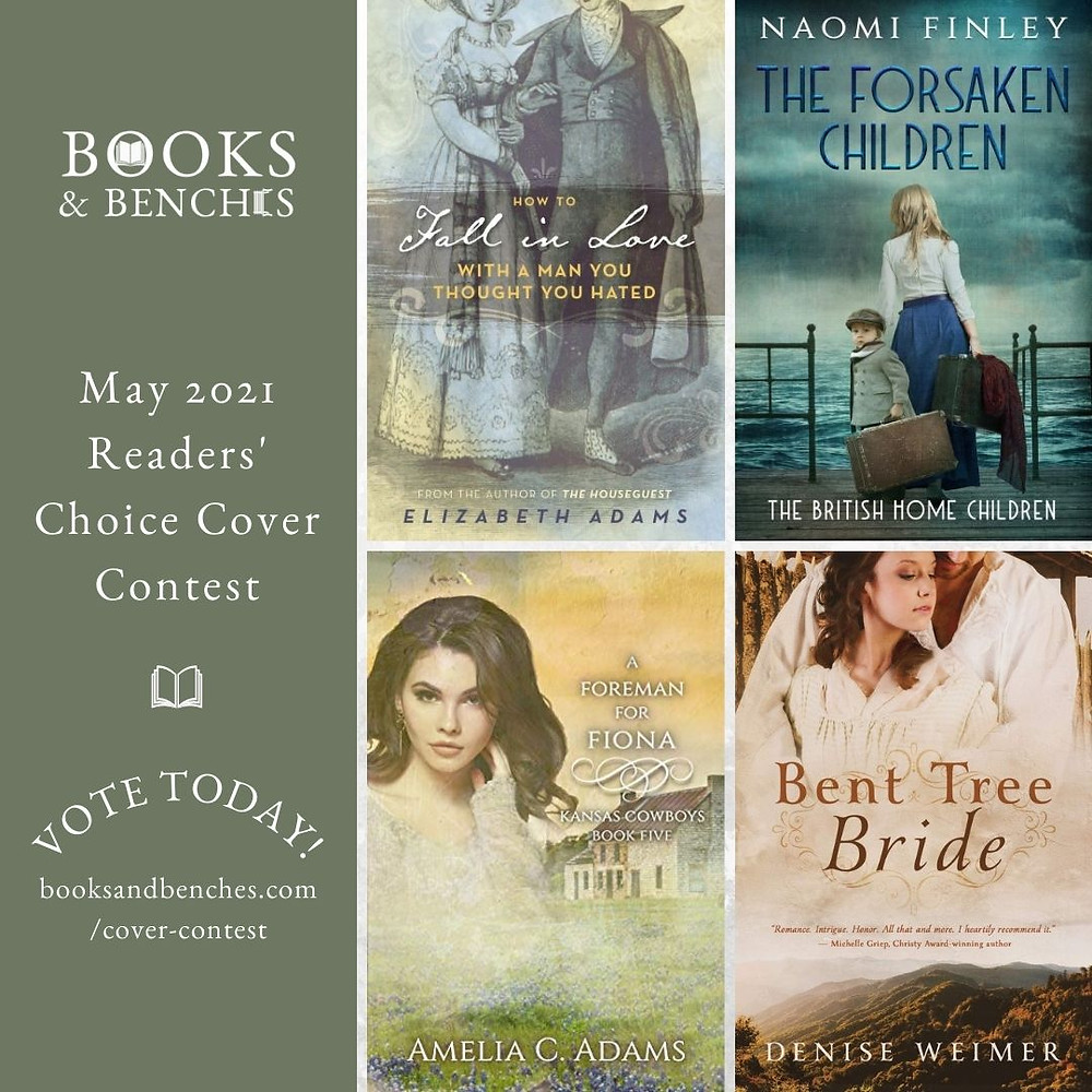 October 2020 Book Cover Contest at Books & Benches