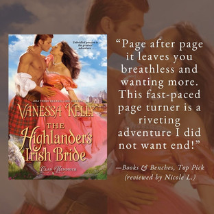THE HIGHLANDER'S IRISH BRIDE by Vanessa Kelly - A Reader's Opinion