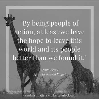 Be a Person of Action ~ #upbeatauthors