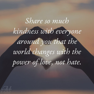 Change the world with love not hate_MK M