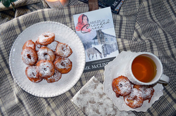 "Book Break with ""Briley of Crooked Creek"" - Apple Jack Fritters"