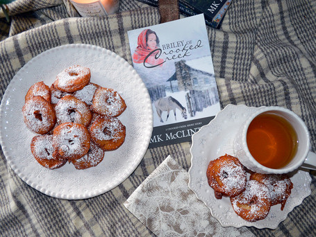 """Book Break with """"Briley of Crooked Creek"""" - Apple Jack Fritters"""