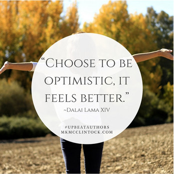 Fostering Optimism ~ #UpbeatAuthors