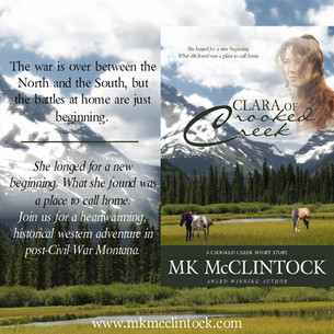"A Glimpse at ""Clara of Crooked Creek"""