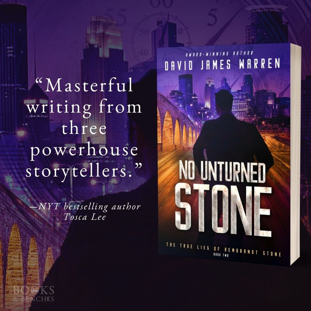 NO UNTURNED STONE by David James Warren - 10 Things + Excerpt