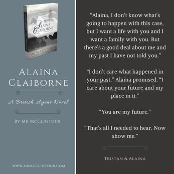 British Agent Novel Bits & Bobs: ALAINA CLAIBORNE