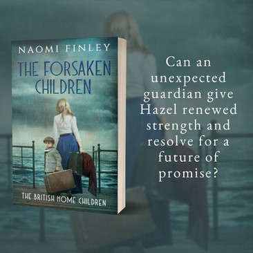 """Brilliant"" - THE FORSAKEN CHILDREN by Naomi Finley - Excerpt"