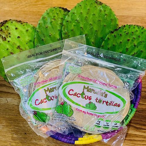 Marcela's Cactus Corn Tortillas (12 ct)