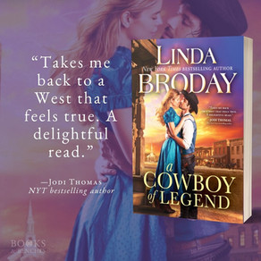A COWBOY OF LEGEND by Linda Broday - What's In a Name?