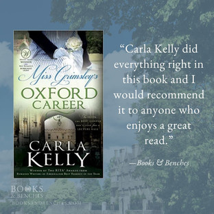 MISS GRIMSLEY'S OXFORD CAREER by Carla Kelly - A Reader's Opinion