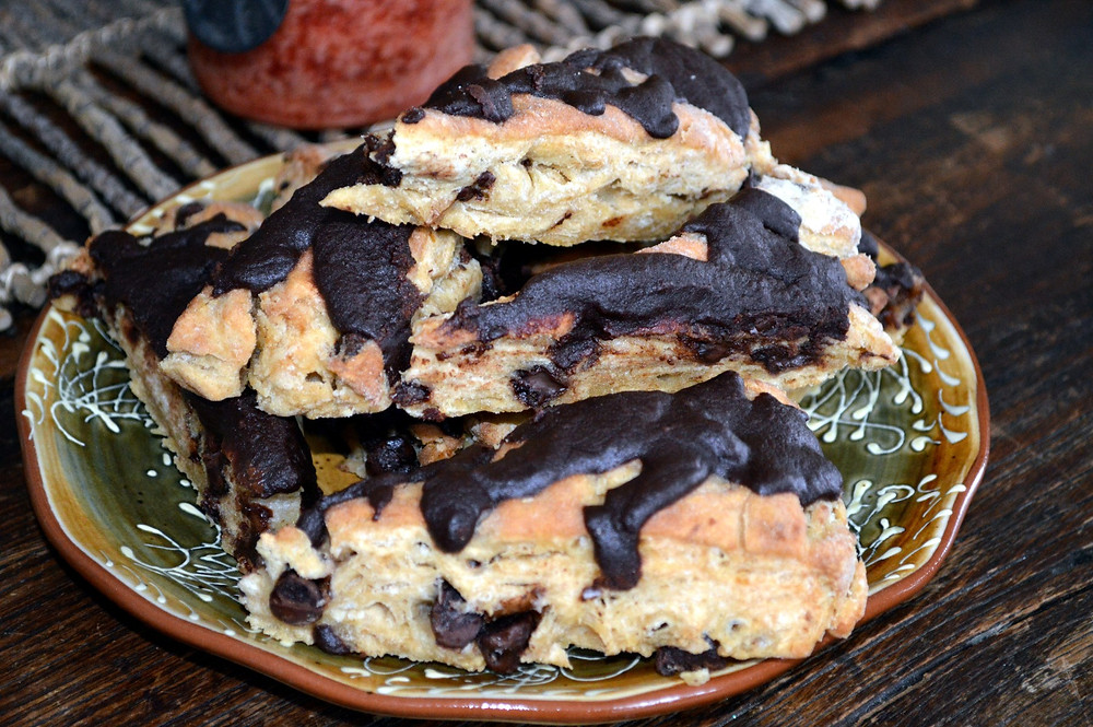 Chocolate Chip Scones from Author MK McClintock