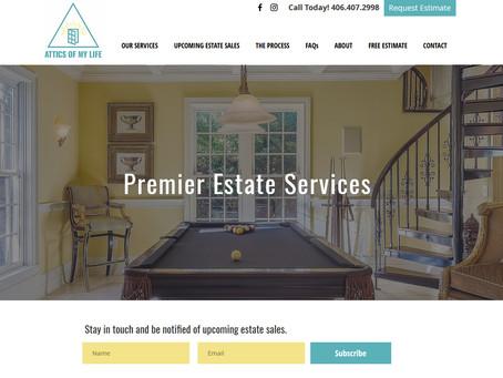 New Website: Attics of My Life - Premier Estate Services