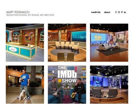 Website Redesign: Matt Tognacci