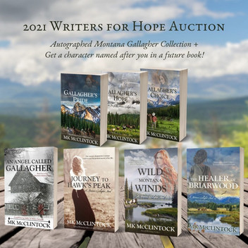 Writers for Hope Auction 2021 - Closed
