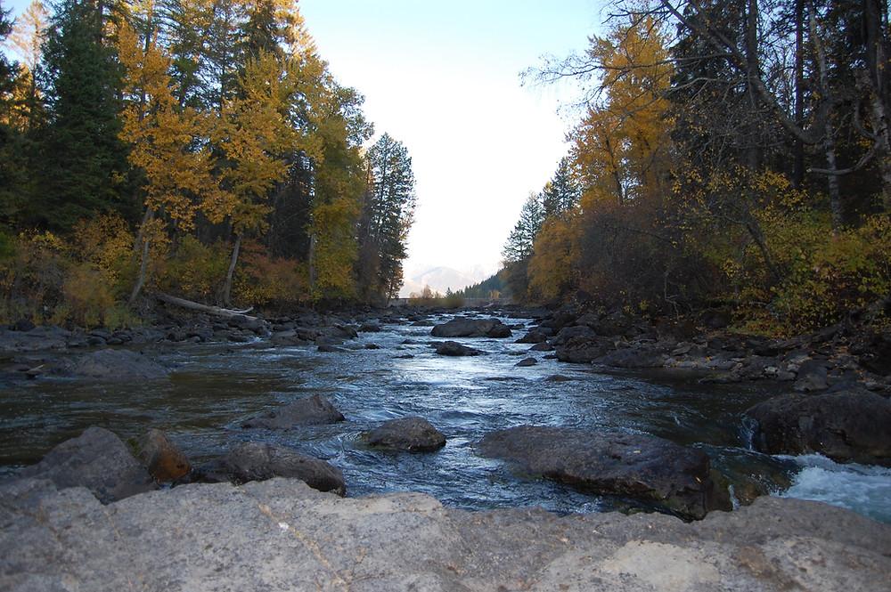 Swan River in Montana - MK McClintock